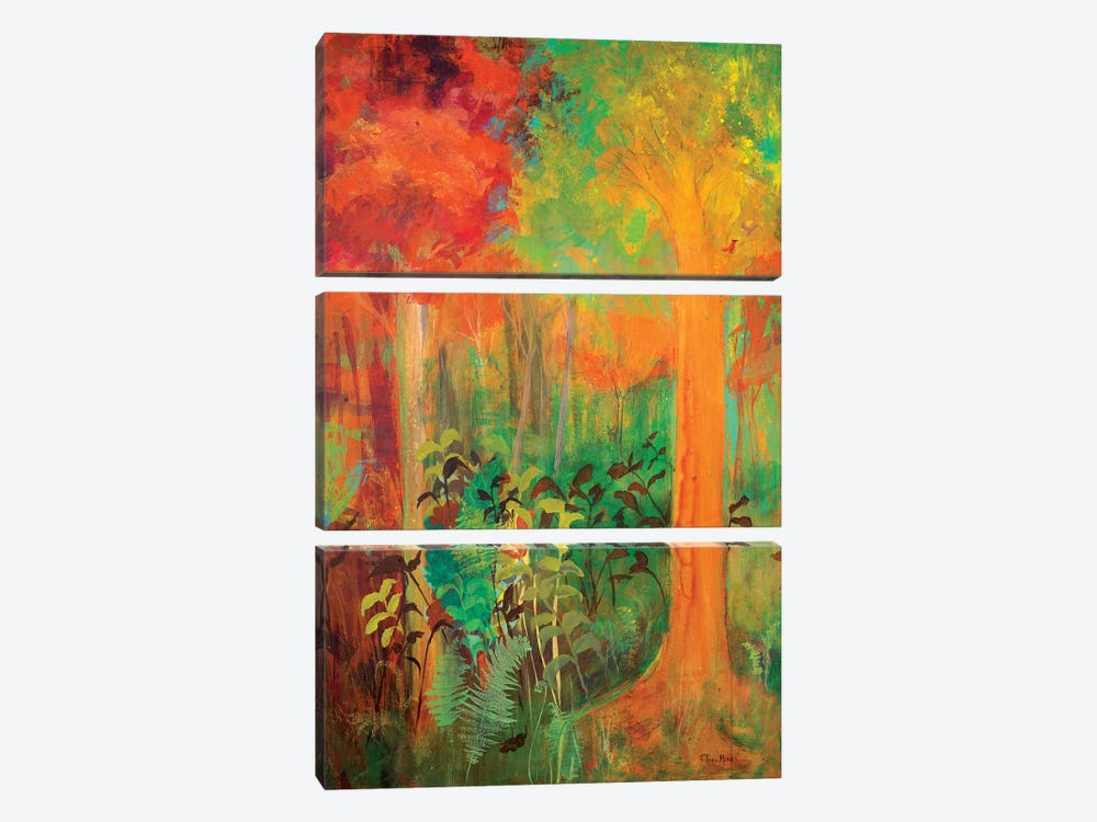 Enchantment in Autumn by Robin Maria 3-piece Art Print