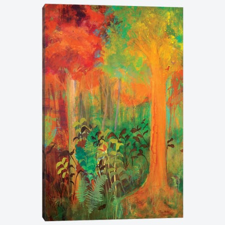 Enchantment in Autumn Canvas Print #RMR16} by Robin Maria Canvas Wall Art