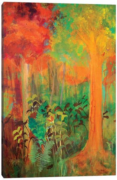 Enchantment in Autumn Canvas Art Print