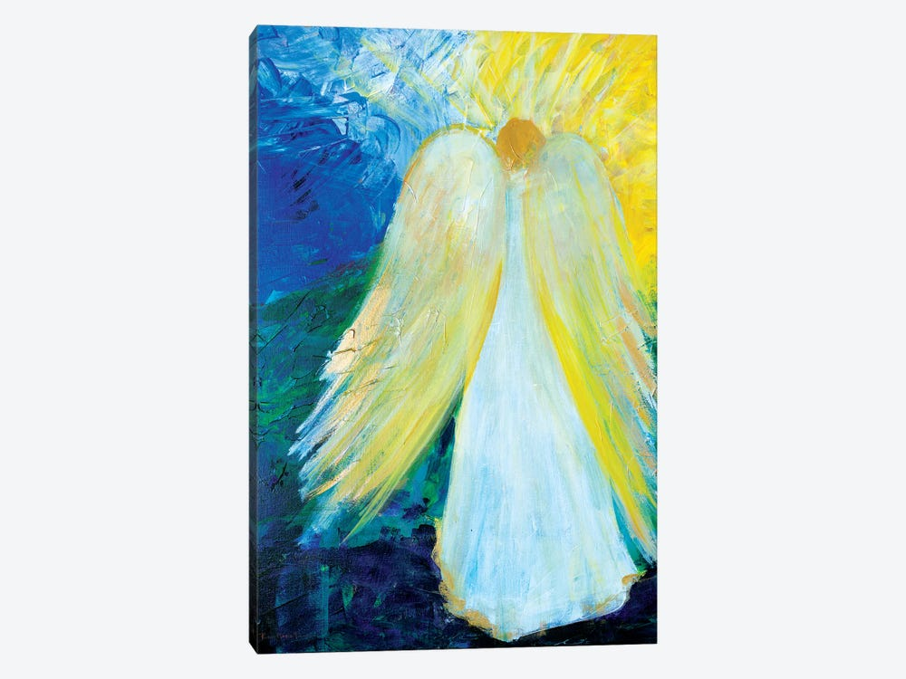 Glowing Angel of Love by Robin Maria 1-piece Canvas Artwork