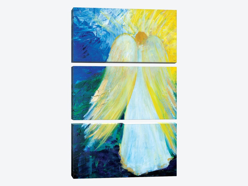 Glowing Angel of Love by Robin Maria 3-piece Canvas Artwork