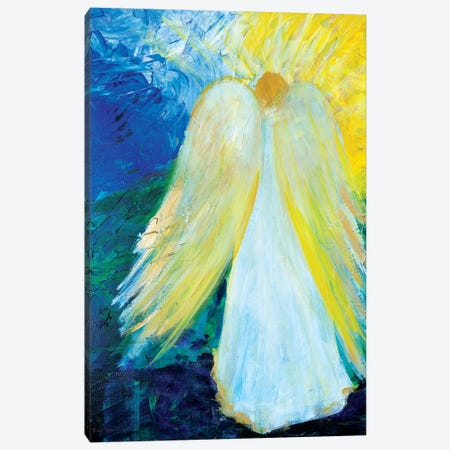 Glowing Angel of Love 3-Piece Canvas #RMR17} by Robin Maria Canvas Artwork