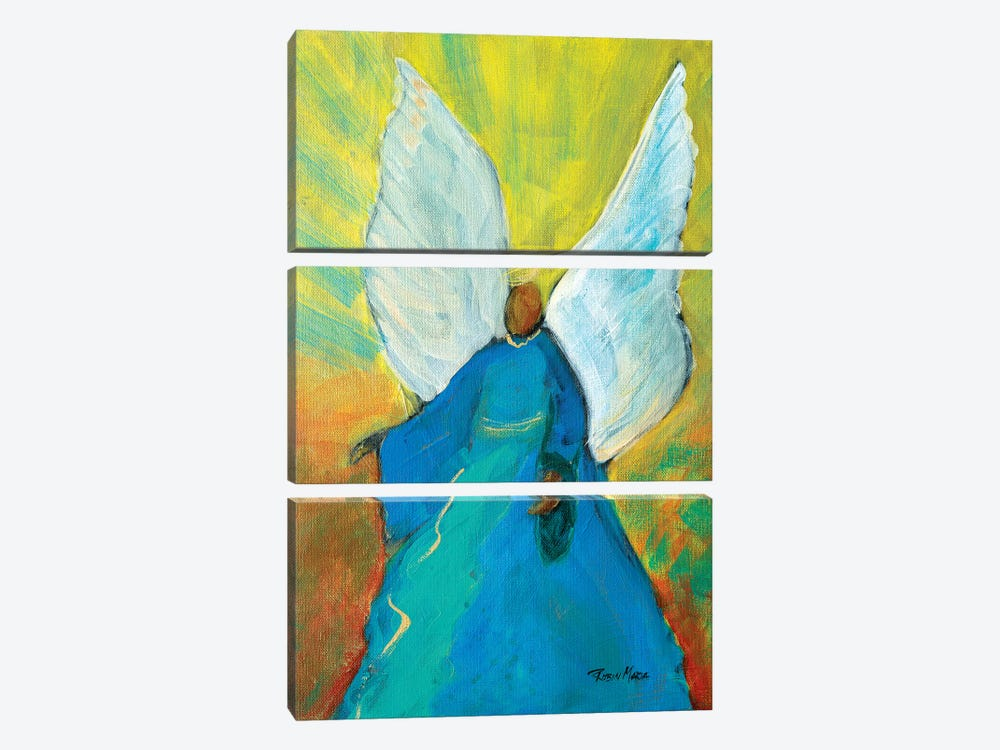 Guardian Angel by Robin Maria 3-piece Canvas Print