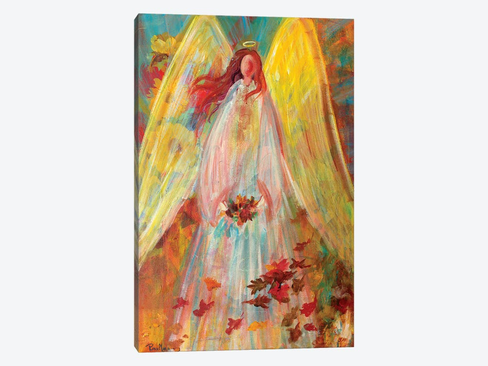 Harvest Autumn Angel by Robin Maria 1-piece Canvas Art