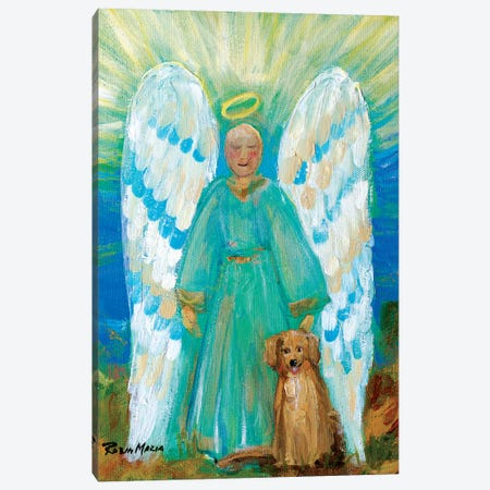 My Angels Canvas Print #RMR21} by Robin Maria Canvas Wall Art