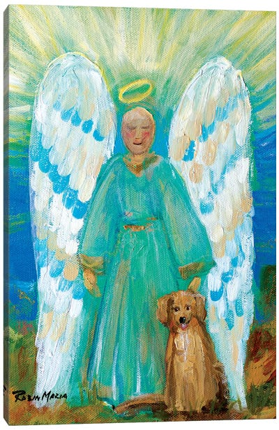 My Angels Canvas Art Print