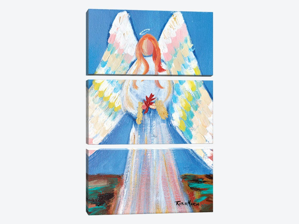Angel of Fall by Robin Maria 3-piece Canvas Art