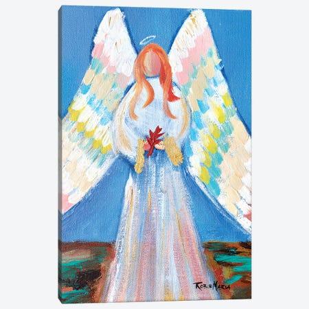 Angel of Fall 3-Piece Canvas #RMR2} by Robin Maria Canvas Print