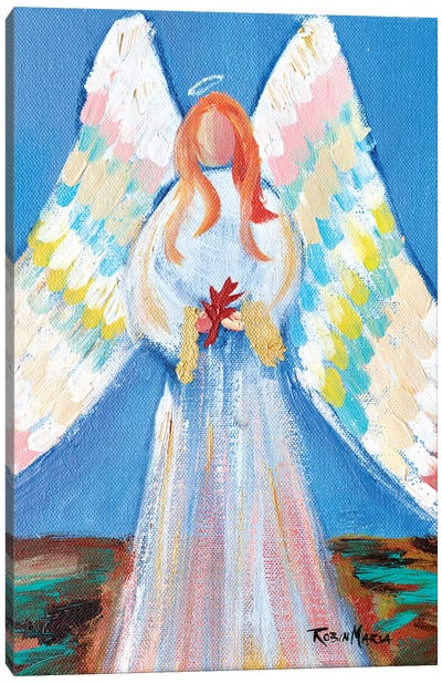 Angel of Fall Canvas Art Print