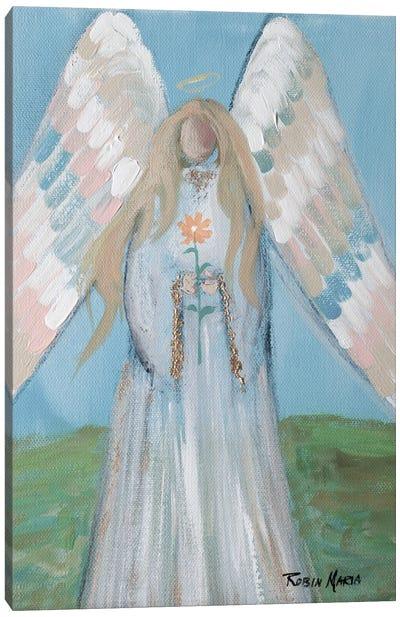 Angel in Spring Canvas Art Print