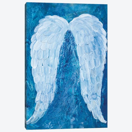 Angel Wings Canvas Print #RMR34} by Robin Maria Canvas Art
