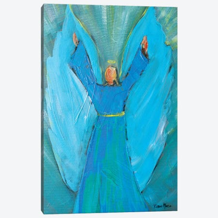Angel of Praise Canvas Print #RMR3} by Robin Maria Canvas Print