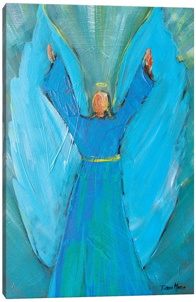 Angel of Praise Canvas Art Print