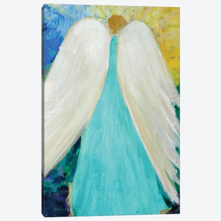Dreams and Angel Wings Canvas Print #RMR41} by Robin Maria Canvas Artwork