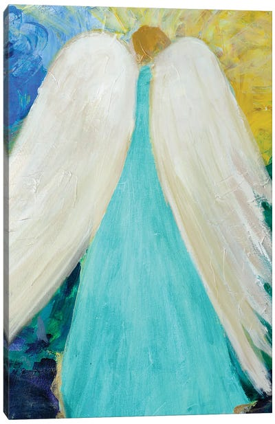 Dreams and Angel Wings Canvas Art Print