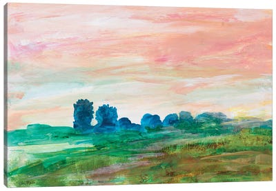 Glowing Impressions Canvas Art Print
