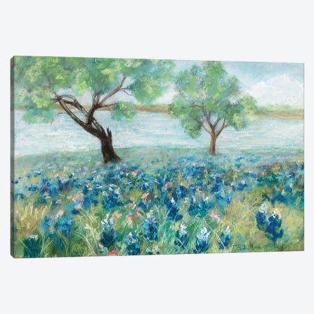 Green Fields I Canvas Print #RMR44} by Robin Maria Art Print