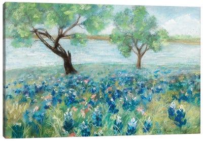 Green Fields I Canvas Art Print
