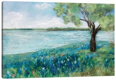 Green Fields II Canvas Art Print