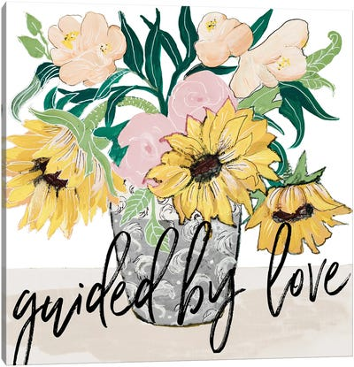 Guided by Love Canvas Art Print