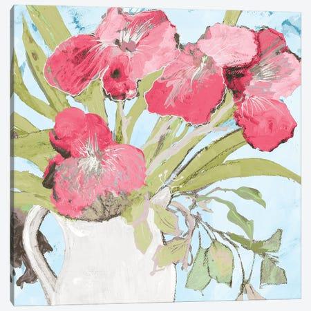 Spring Vase Canvas Print #RMR48} by Robin Maria Canvas Art