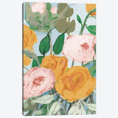Summer Roses Canvas Print #RMR49} by Robin Maria Canvas Art