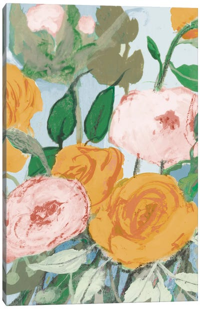 Summer Roses Canvas Art Print