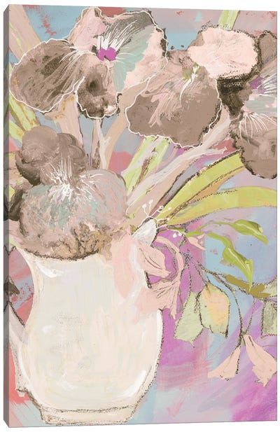 Summer Vase Canvas Art Print