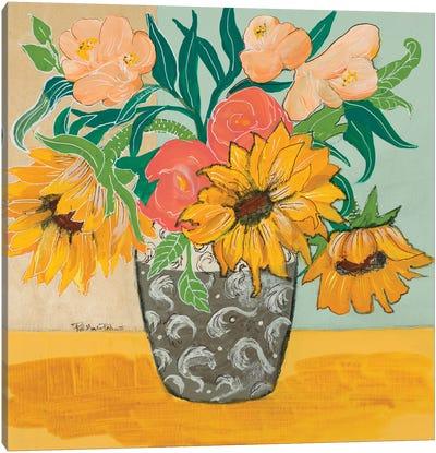 Summertime Vase Canvas Art Print
