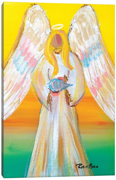 Angel of Summer Canvas Art Print