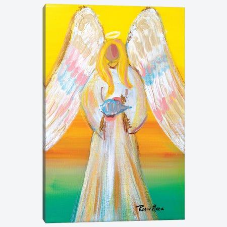 Angel of Summer Canvas Print #RMR5} by Robin Maria Canvas Art