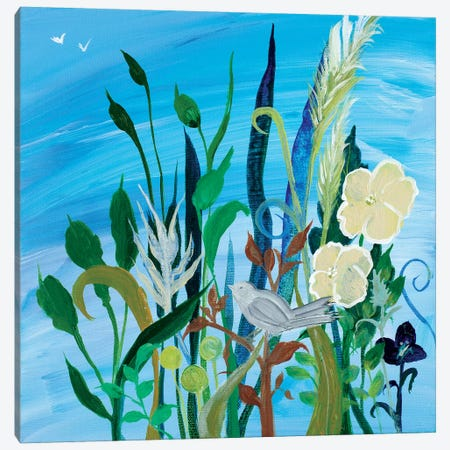 Awaiting Song I Canvas Print #RMR7} by Robin Maria Canvas Art