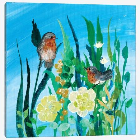 Awaiting Song II Canvas Print #RMR8} by Robin Maria Canvas Print
