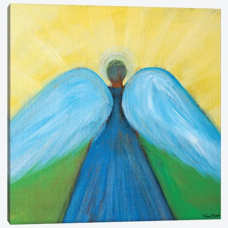 Beneath Angels Wings 3-Piece Canvas #RMR9} by Robin Maria Canvas Art Print