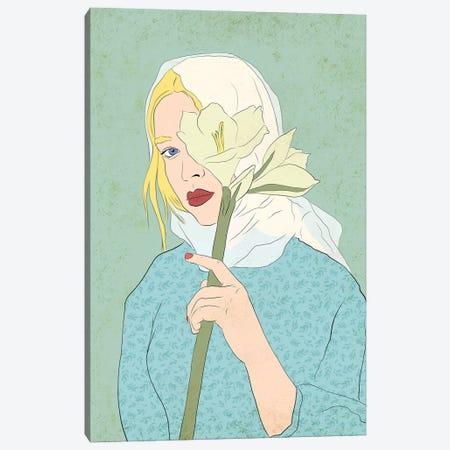 Belladonna Canvas Print #RMU105} by Roberta Murray Art Print