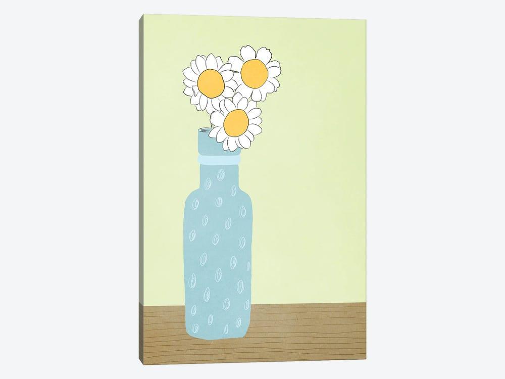 Blue Daisy by Roberta Murray 1-piece Art Print