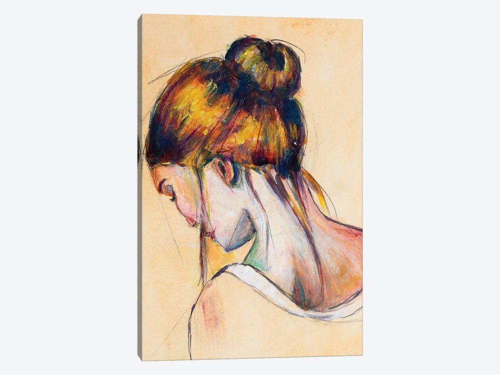 The Brunette by Roberta Murray 1-piece Canvas Wall Art
