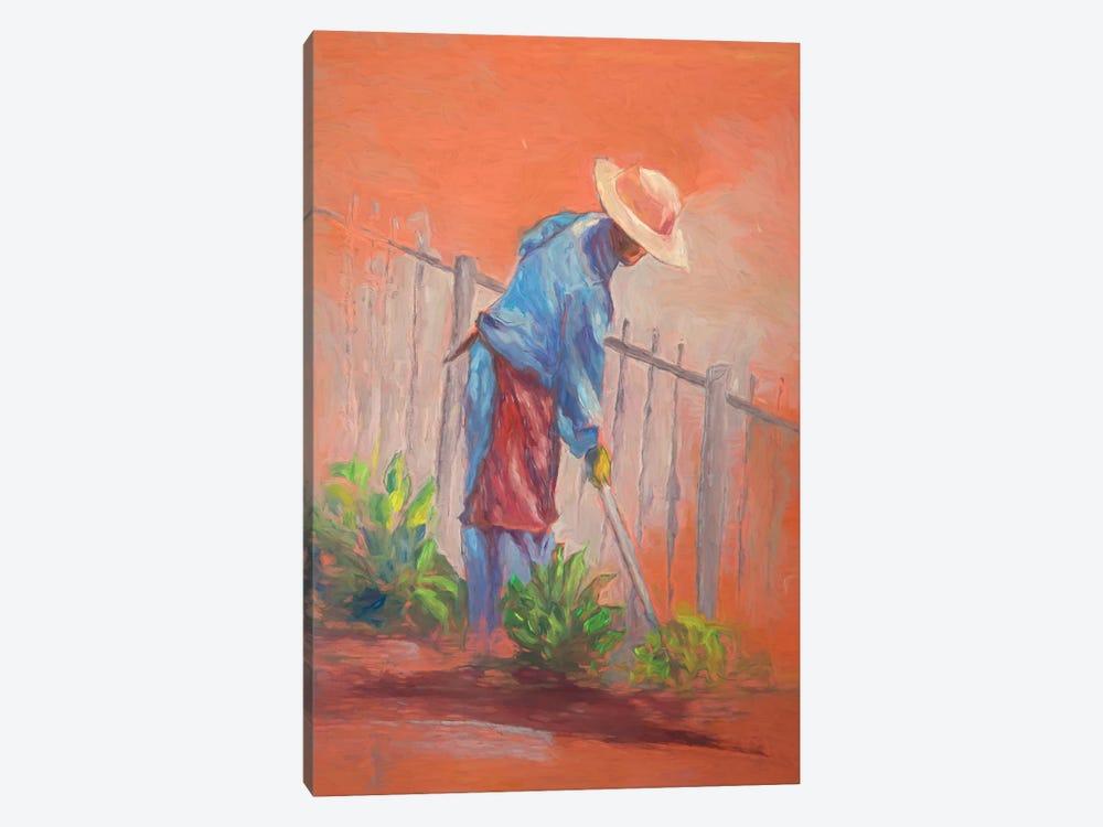 The Gardener by Roberta Murray 1-piece Art Print