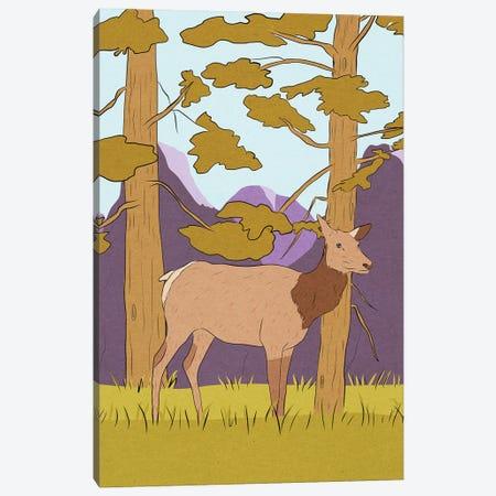 Wapiti Canvas Print #RMU116} by Roberta Murray Canvas Wall Art
