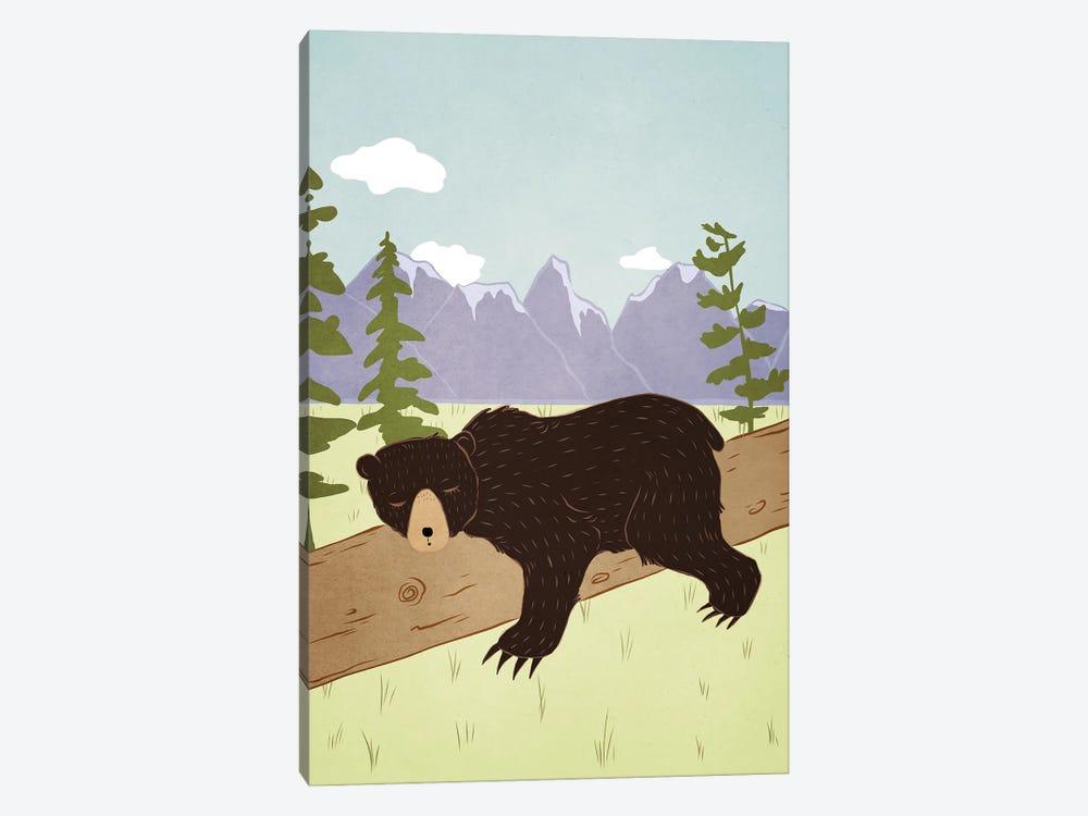 Forest Nap by Roberta Murray 1-piece Canvas Art Print