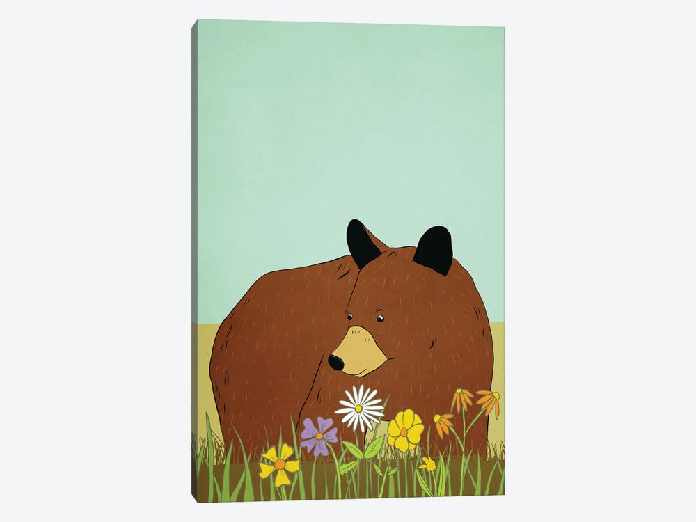 Please Don't Eat The Daisies by Roberta Murray 1-piece Canvas Wall Art