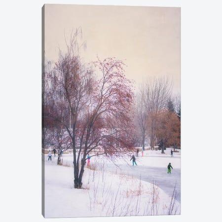 A Frosty Morn Canvas Print #RMU129} by Roberta Murray Canvas Artwork