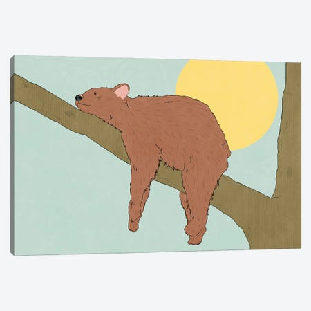Lazing On A Sunday Afternoon Canvas Print #RMU12} by Roberta Murray Canvas Art