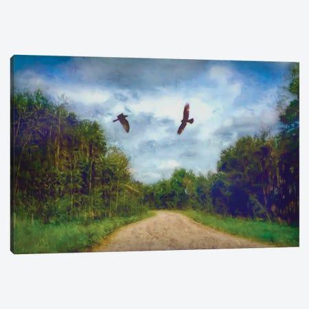 Follow Me Too Canvas Print #RMU150} by Roberta Murray Canvas Art Print