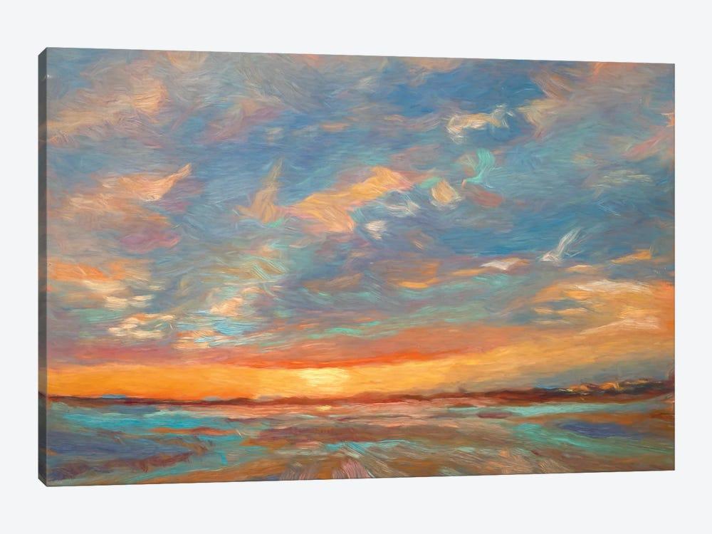 Short Grass Sunrise by Roberta Murray 1-piece Canvas Wall Art