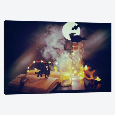 Halloween Alchemy Canvas Print #RMU165} by Roberta Murray Art Print