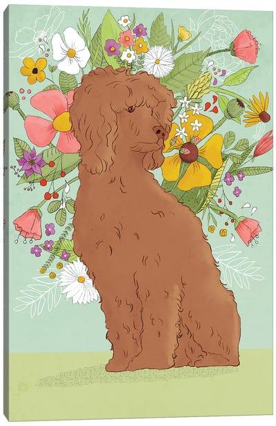 Florence The Poodle Canvas Art Print