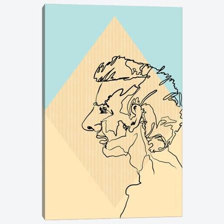 Gary Canvas Print #RMU168} by Roberta Murray Canvas Artwork