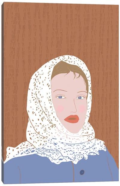 Orenburg Shawl Canvas Art Print