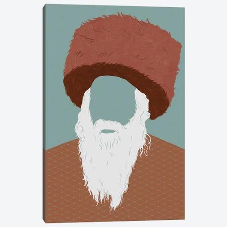 Ushanka Sage Canvas Print #RMU173} by Roberta Murray Canvas Art Print